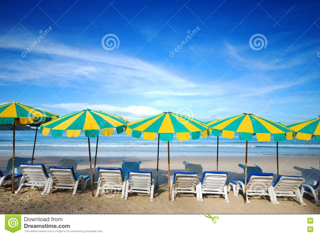 Beach Furniture Royalty Free Stock Images - Image: 25165579