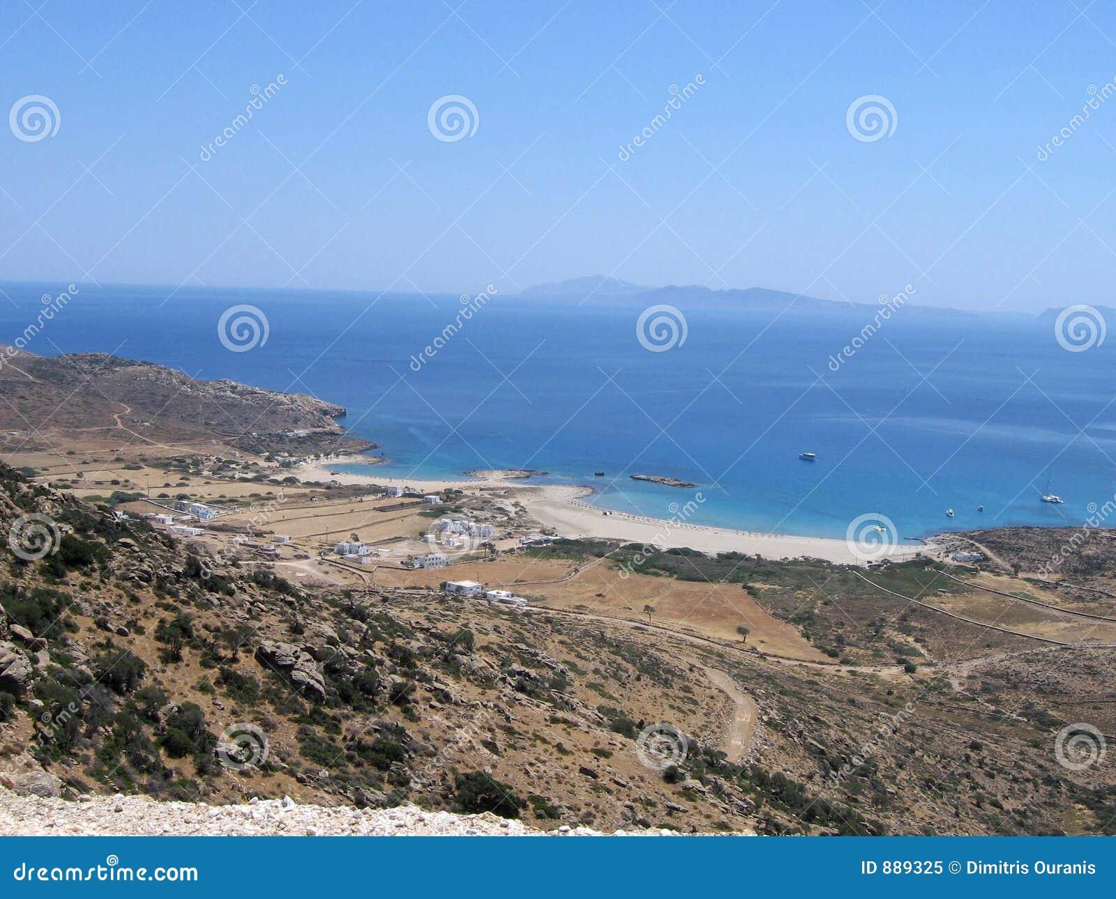 Beach greckiej wyspy 2