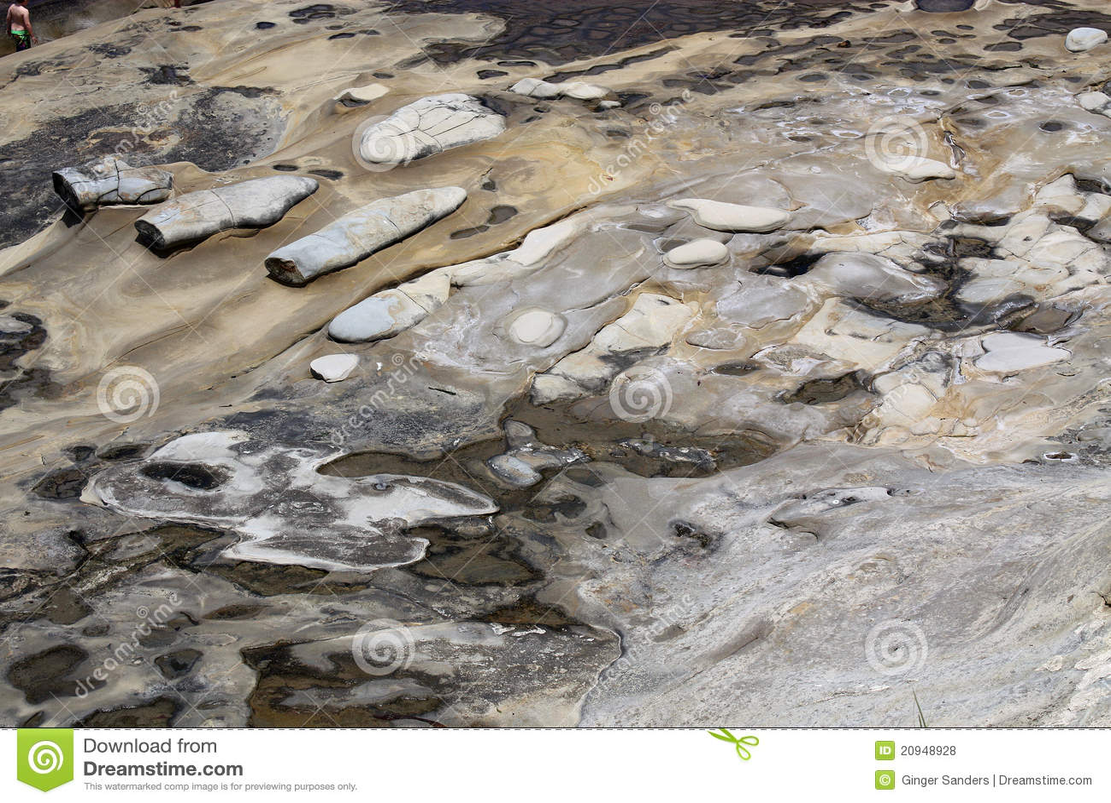 Beach Ground Texture Background