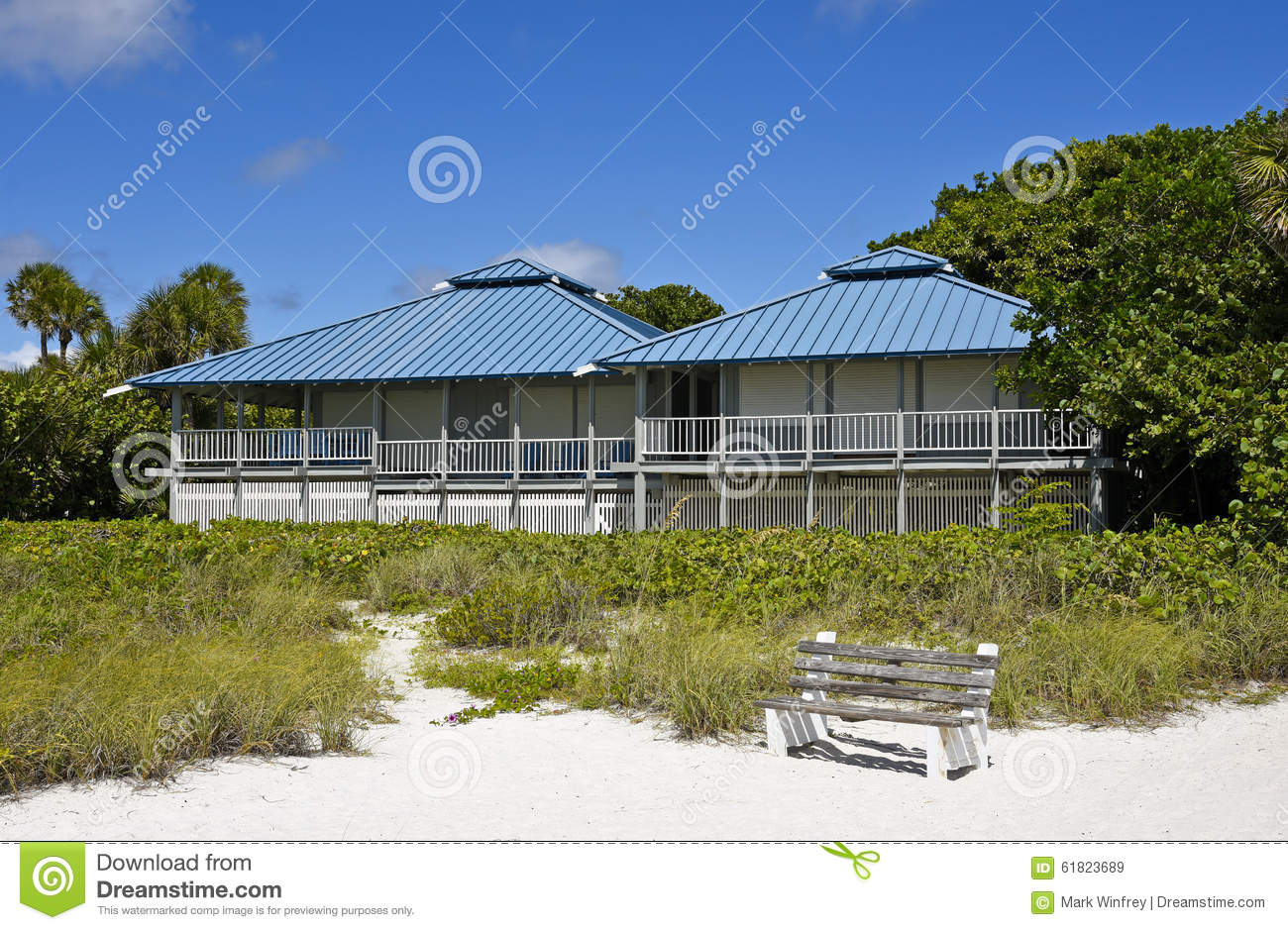 Beach house stock photo image 61823689 for Large beach house