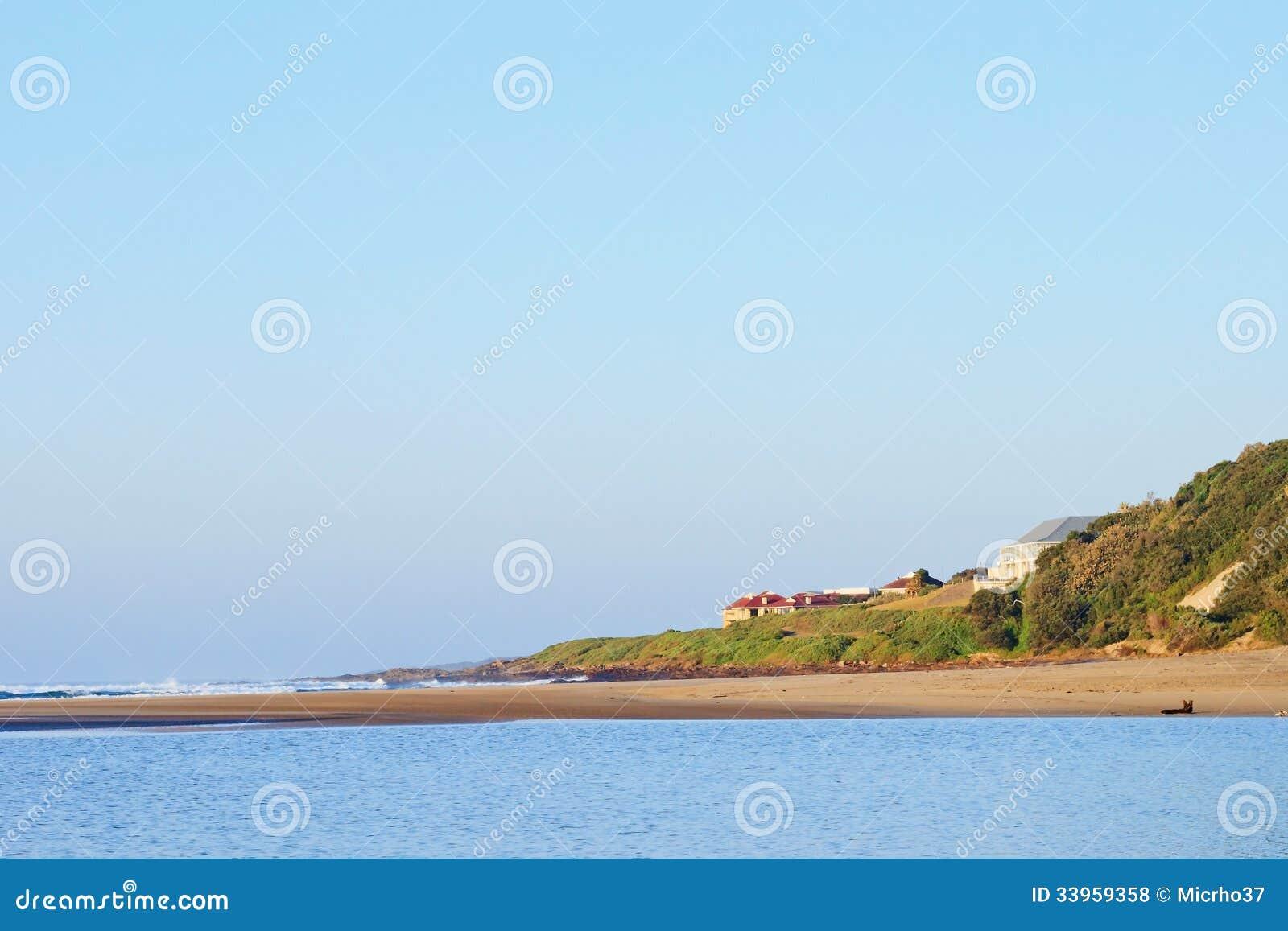 Beach houses royalty free stock photos image 33959358 for Beach houses on the east coast