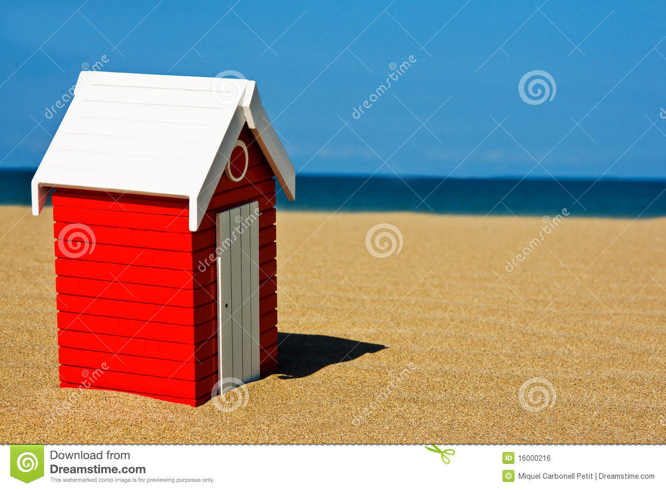 Beach Hut Royalty Free Stock Image - Image: 16000216