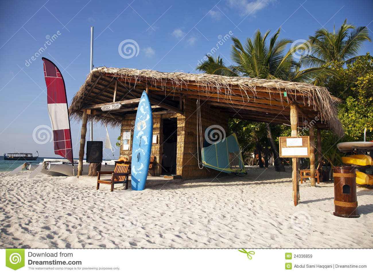 Beach Hut Stock Image Image Of Coconut Surf Vacation