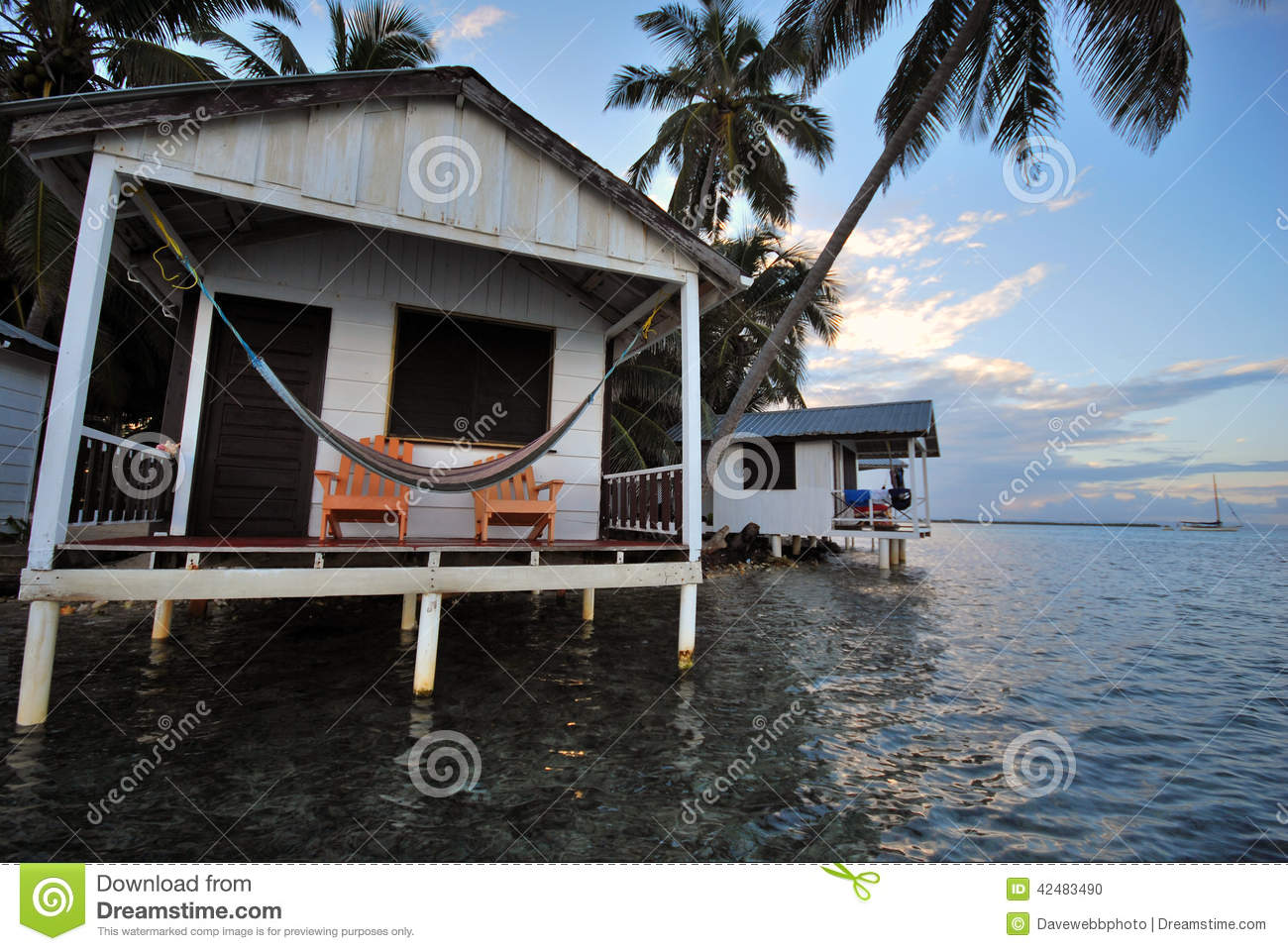Beach Hut in Belize