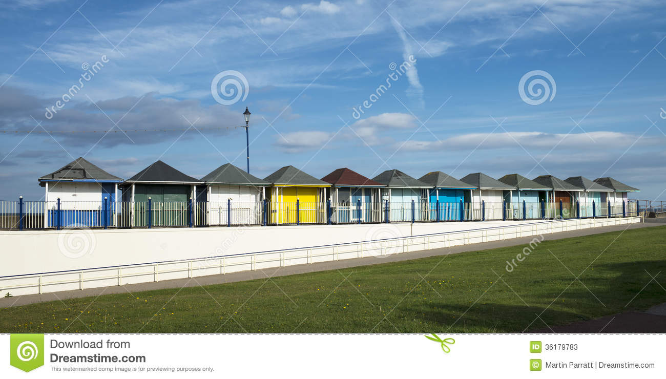Beach Huts Sutton On Sea Lincolnshire