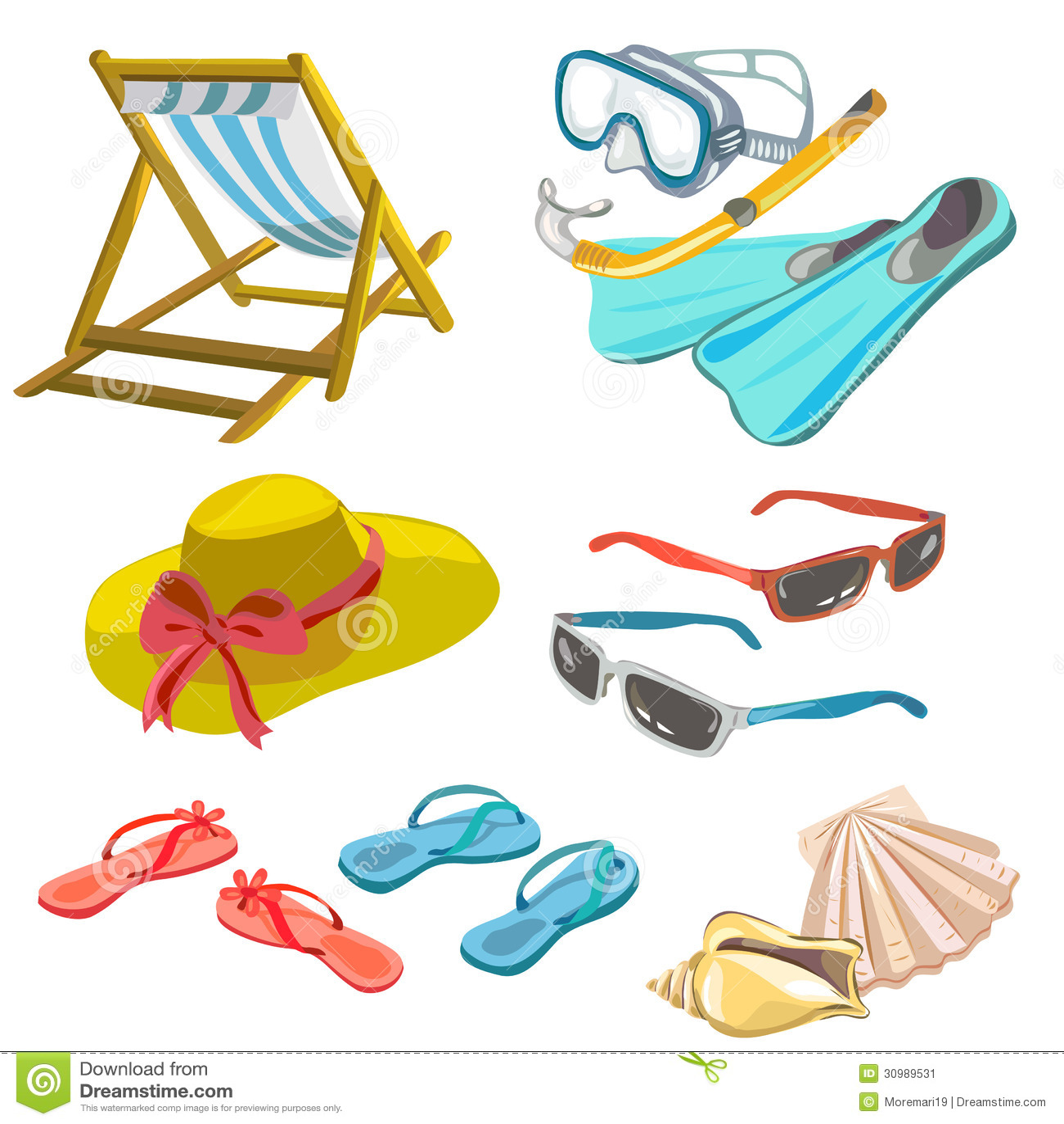 beach icons stock vector image of vector  icon seashell clip art free sea shells clip art free