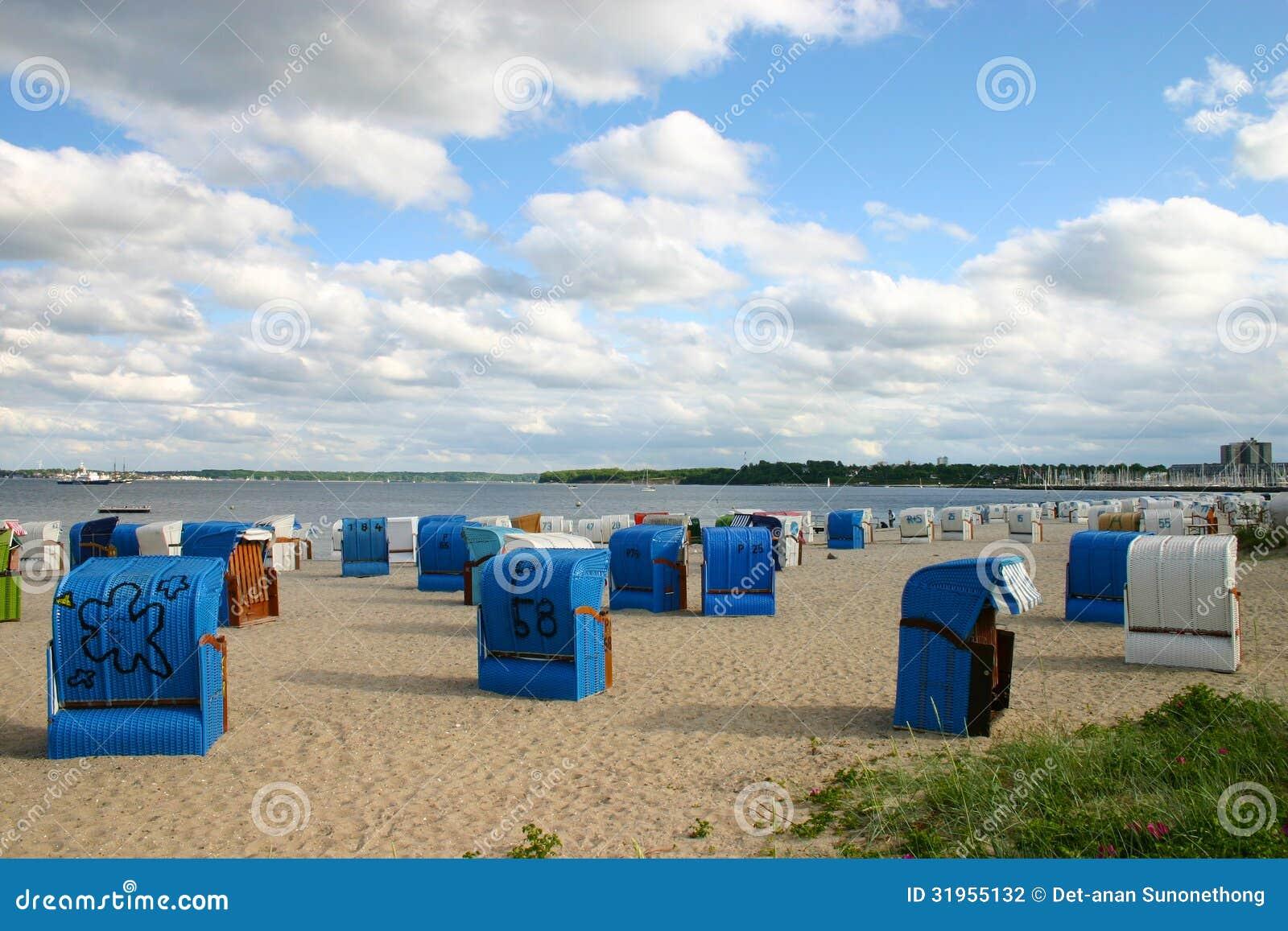 Kiel Germany  city photos : Beach In Kiel, Germany Stock Photography Image: 31955132