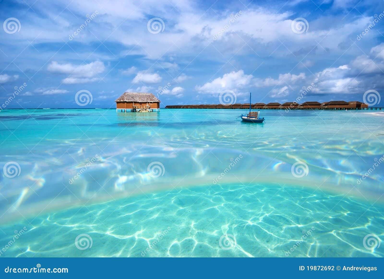 Beach Landscape Maldives Stock Photography Image 19872692
