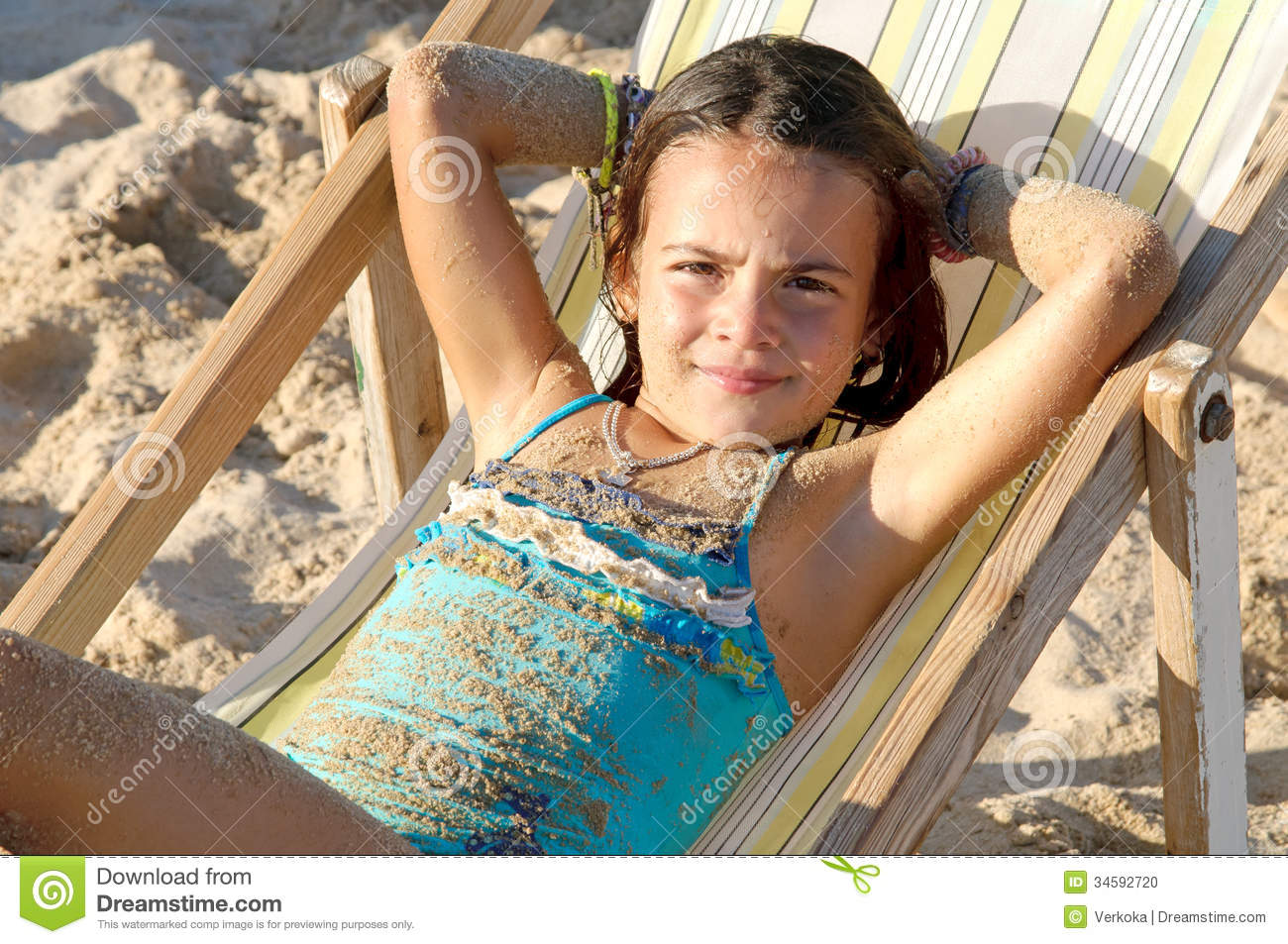 Beach Stock Photo - Image: 34592720