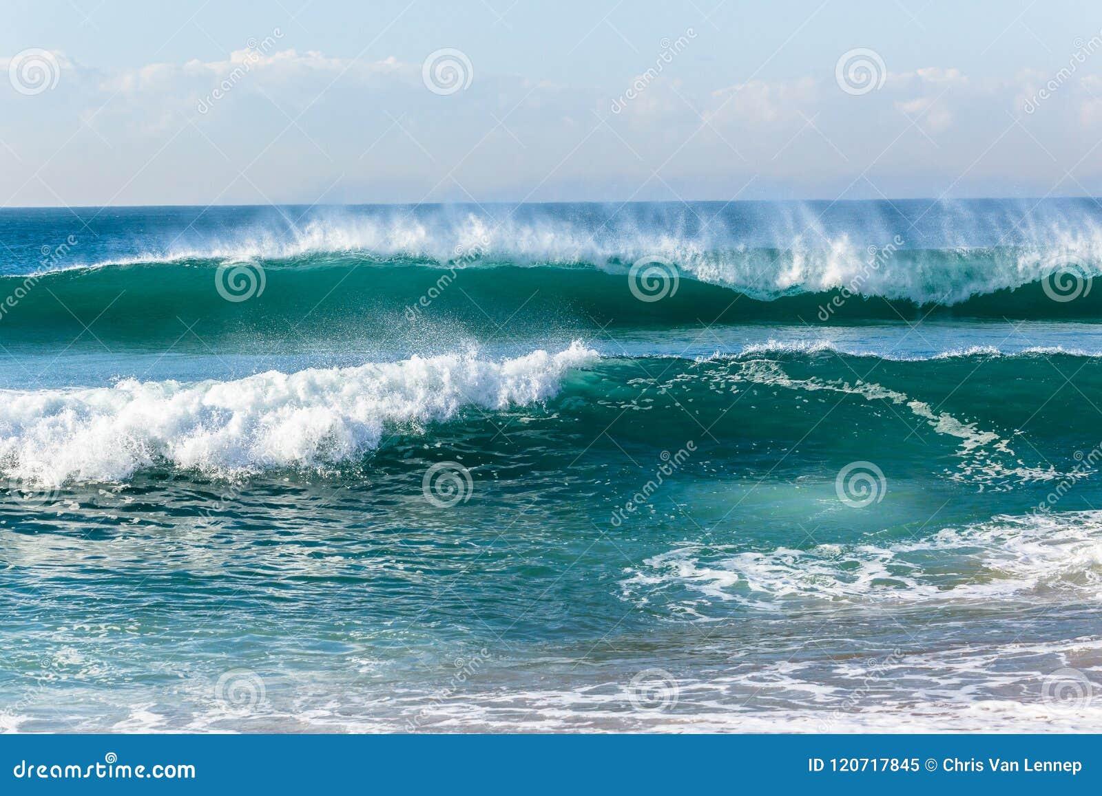 Beach Ocean Waves Shoreline