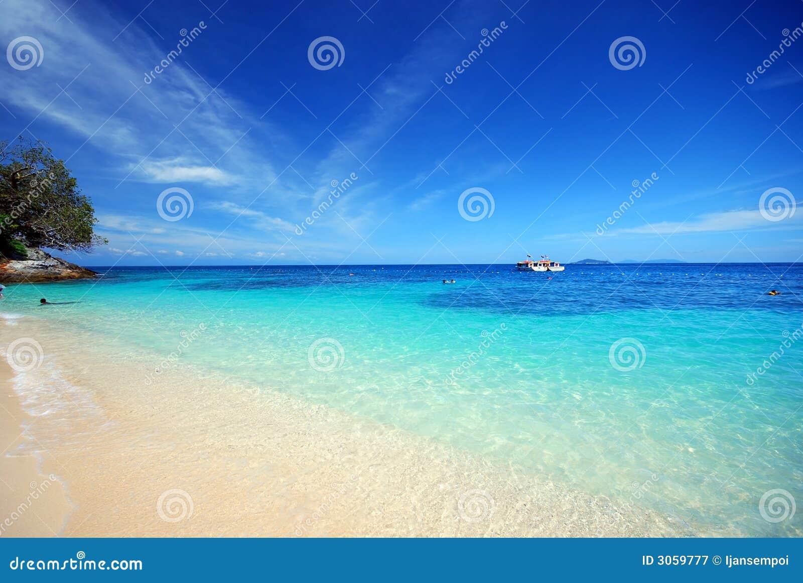 Beach panaroma