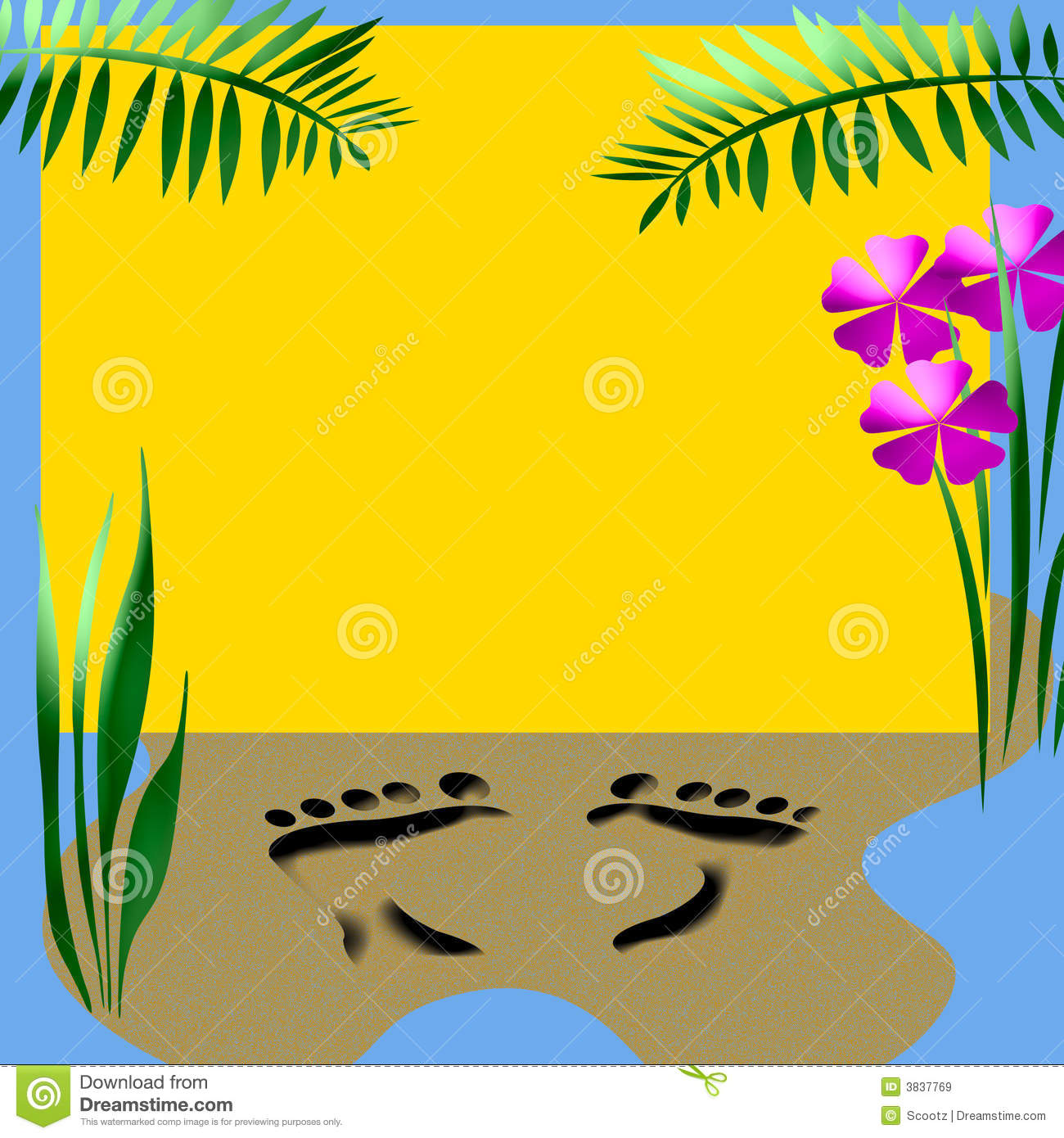 beach party poster stock illustration  image of vacation