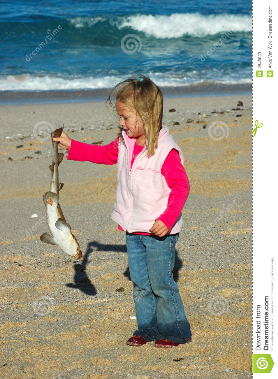 beach pollution stock image image of children