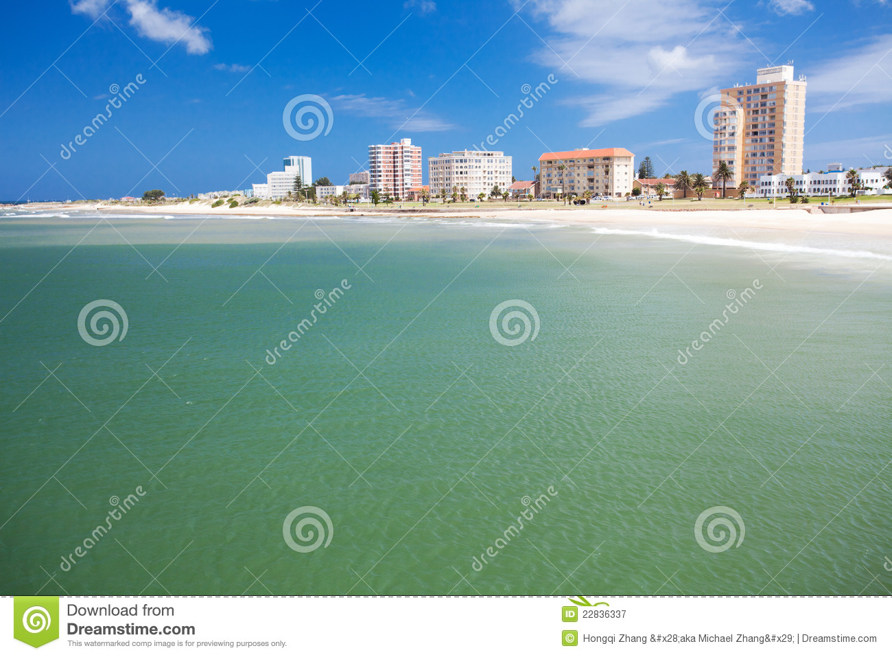 Royalty Free Stock Photography: Beach of Port Elizabeth