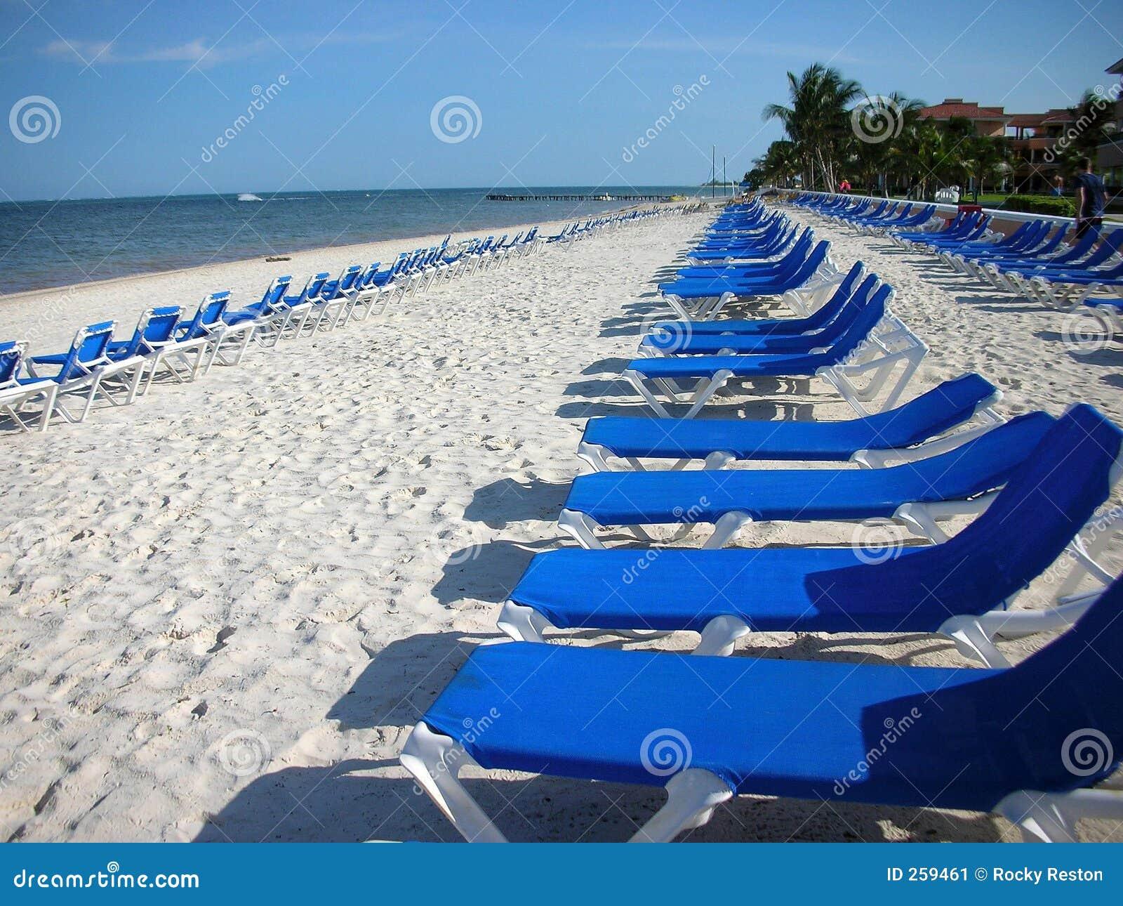 beach ... & Beach Recliners Stock Image - Image: 259461 islam-shia.org