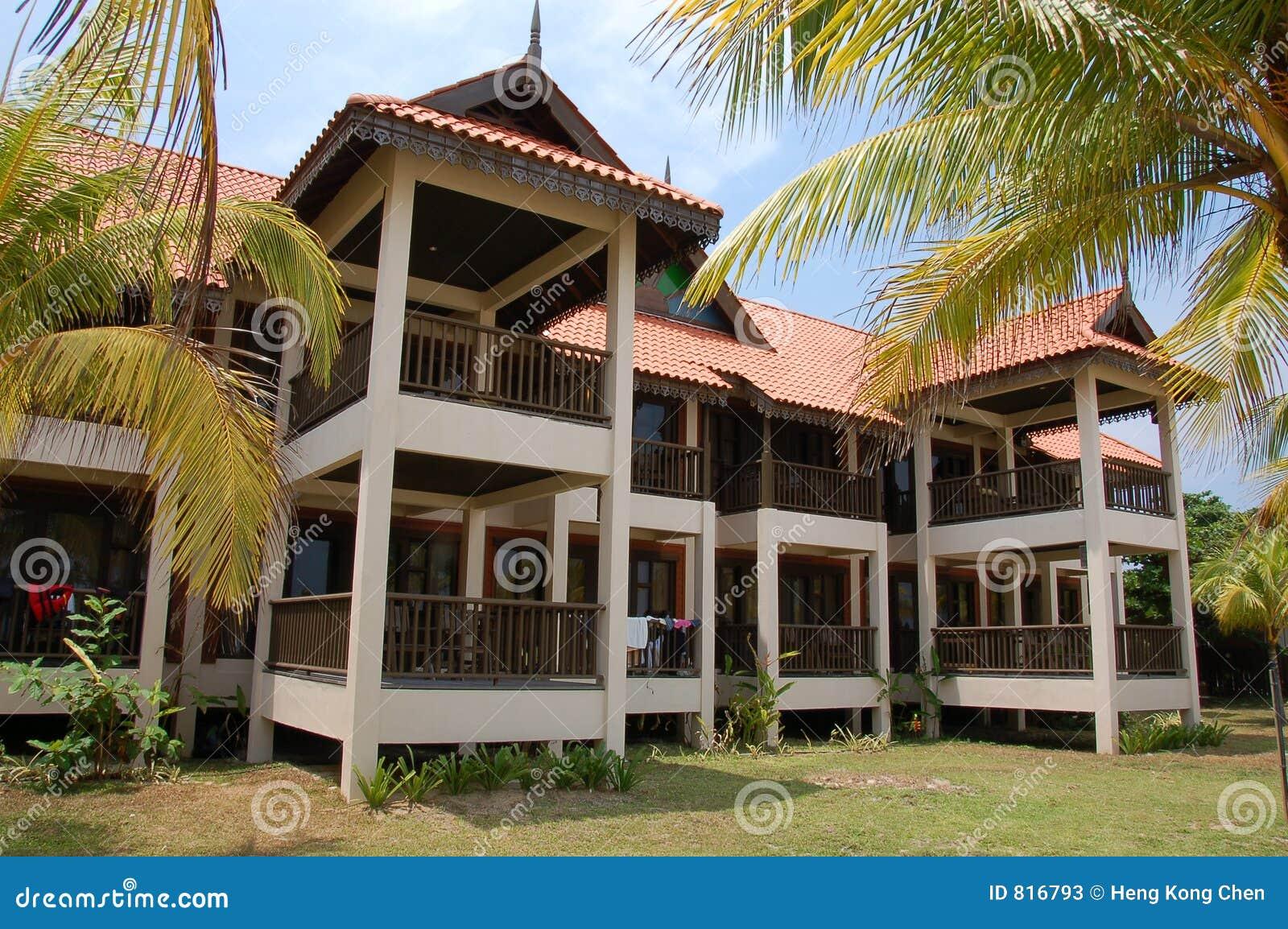 Beach Resort Building 1 Stock Photos Image 816793