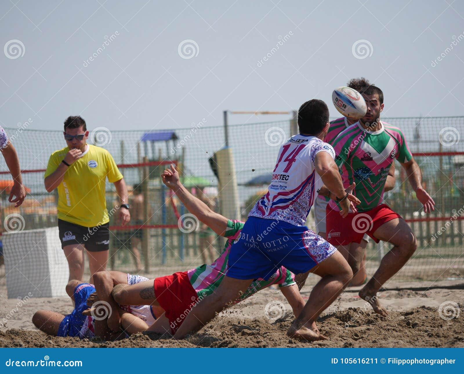 Beach rugby rosolina strani tipi vs beach busters