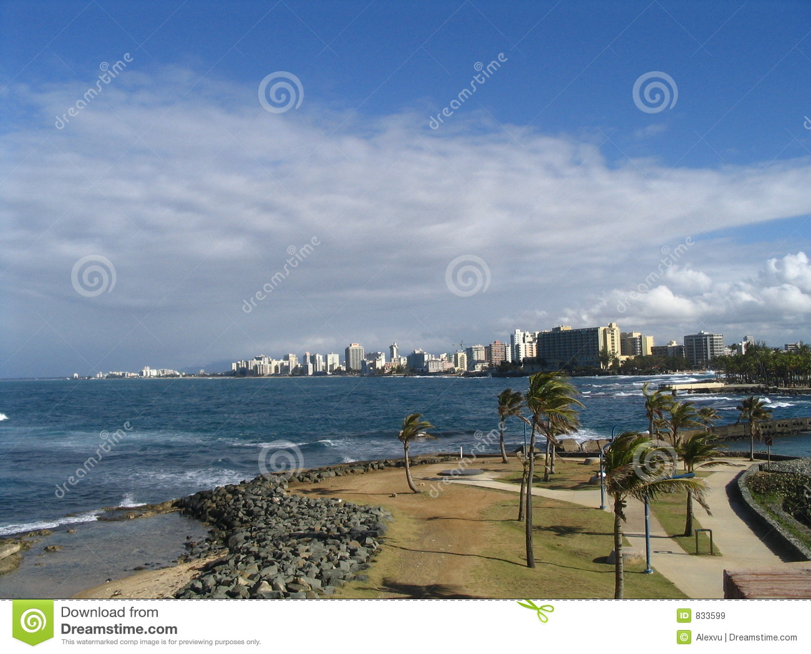 Beach at San Juan Puerto Rico