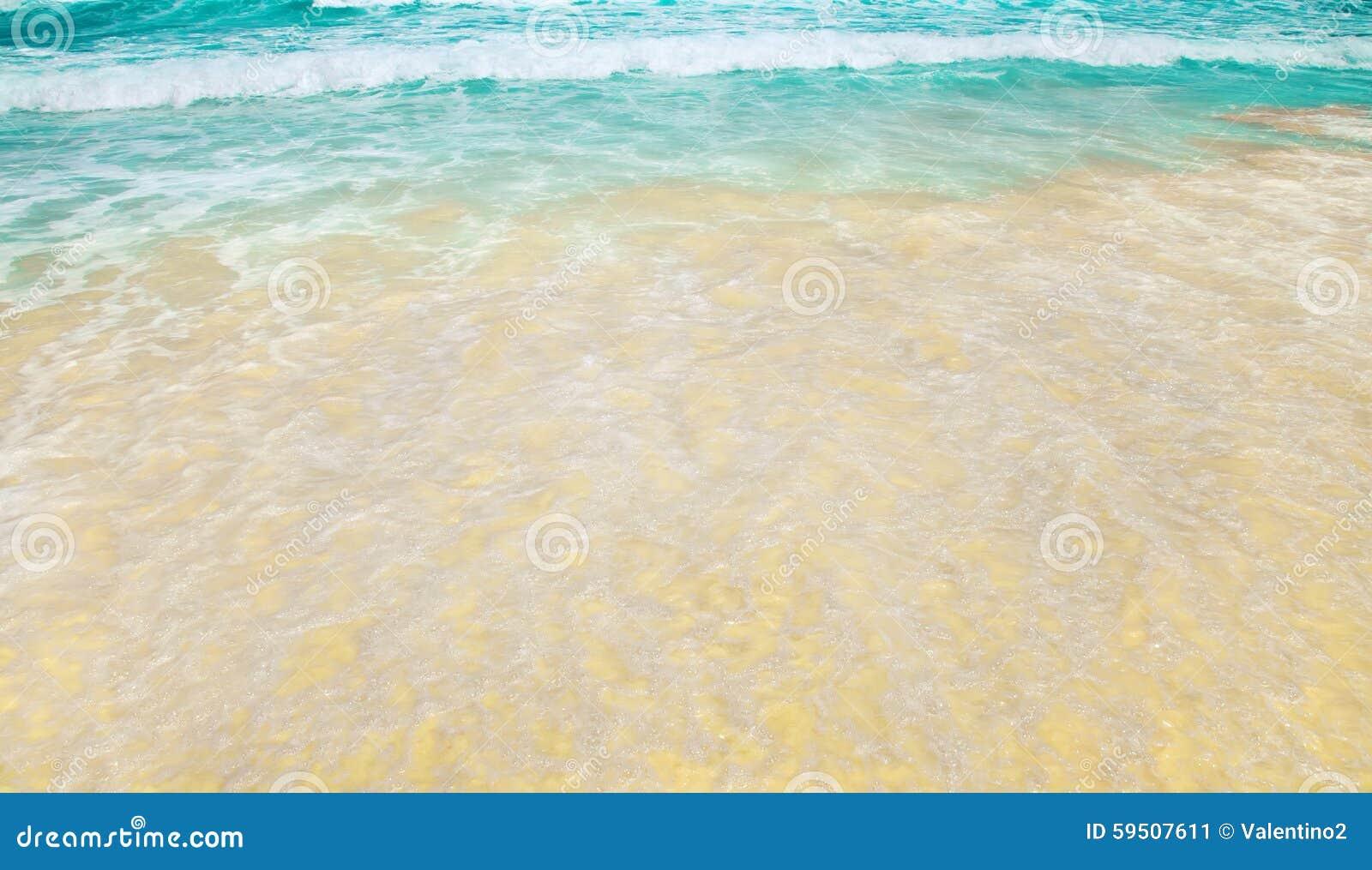 how to clean beach sand