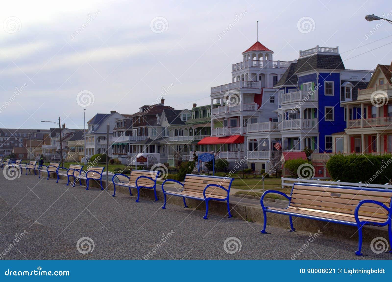 Beach Street, Cape May NJ, USA