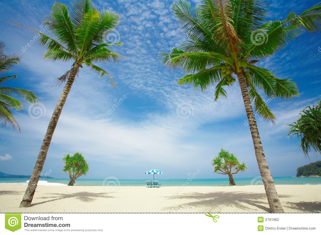 Beach Symmetry Stock Photography Image 2701962