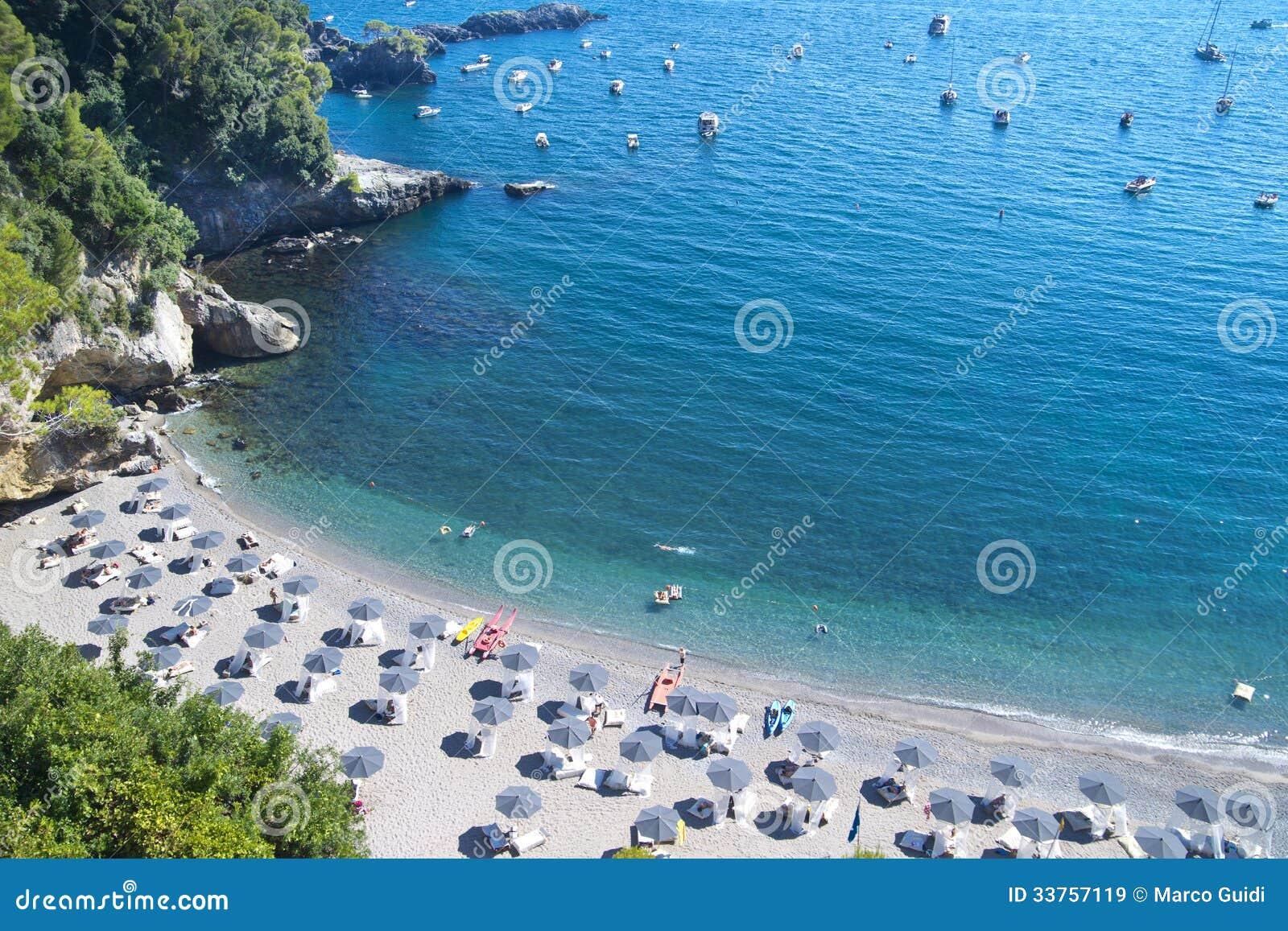 Beach Tellaro Liguria Italy Stock Image Image Of Tellaro