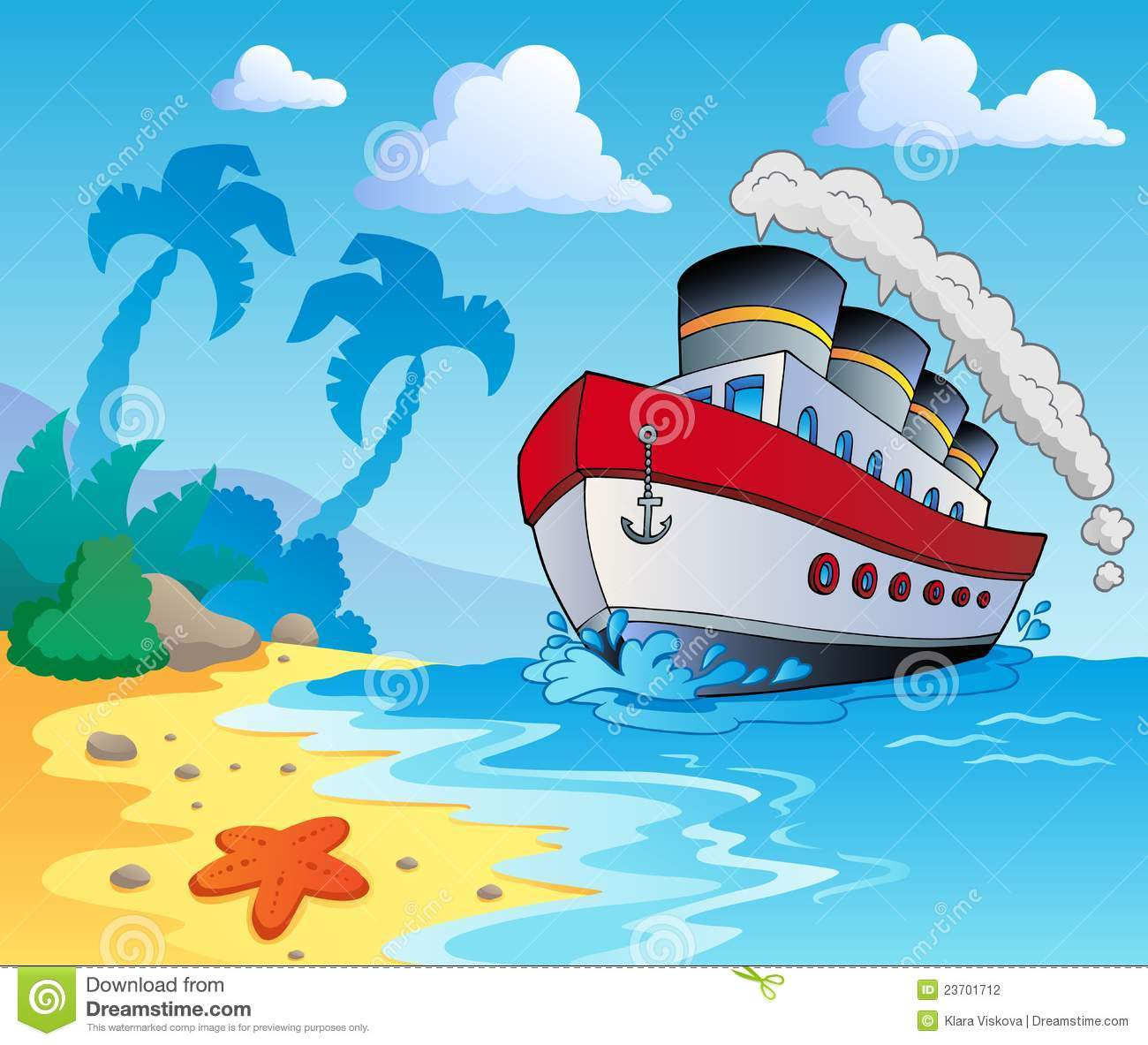 Beach Theme Scenery 5 Stock Photography - Image: 23701712