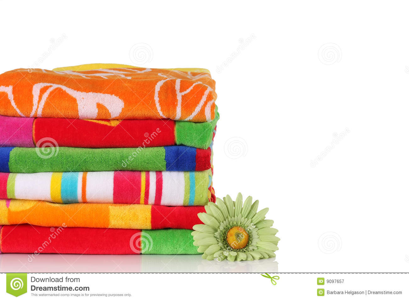 Beach Towels Royalty Free Stock Photography Image 9097657