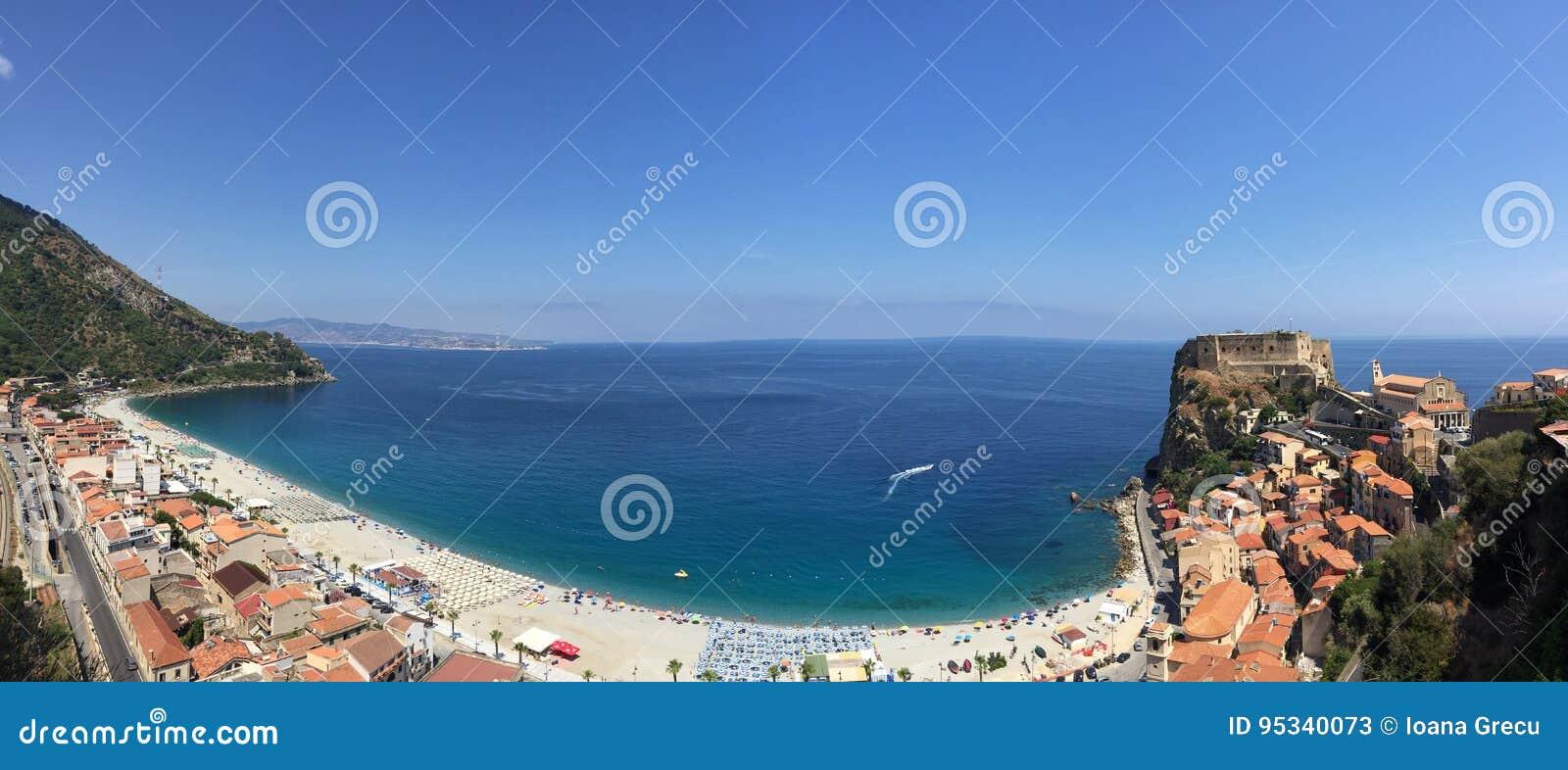 Beach town of Scilla
