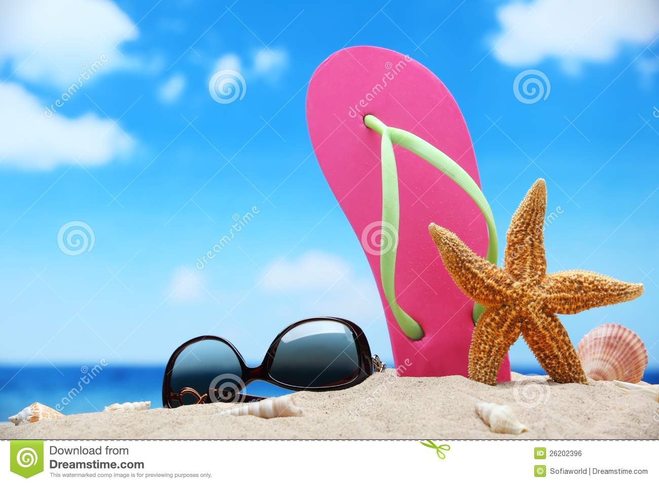 e08a19fd8829 Beach vacation concept stock photo. Image of resort, summer - 26202396