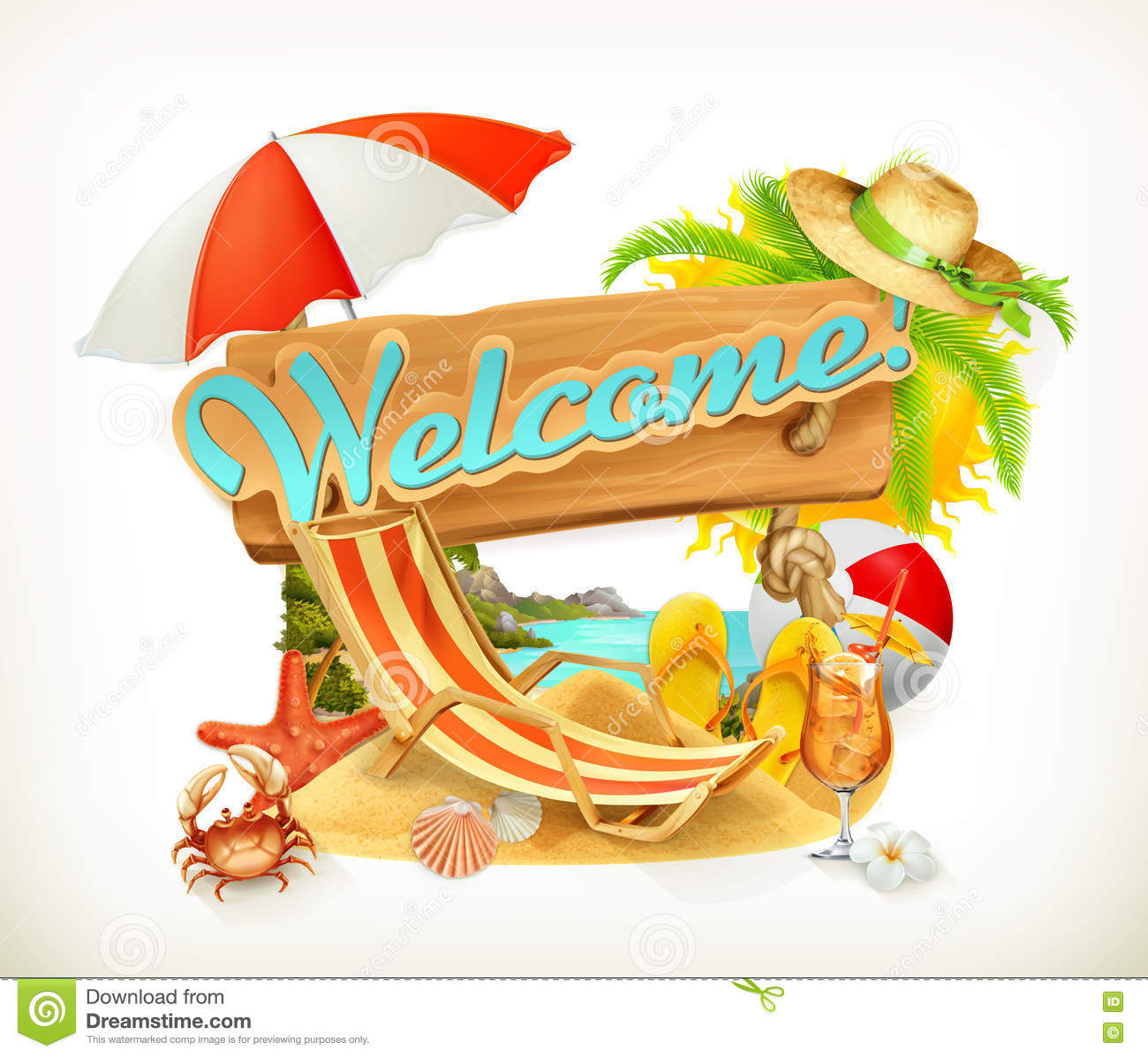 Summer Welcome pictures rare photo
