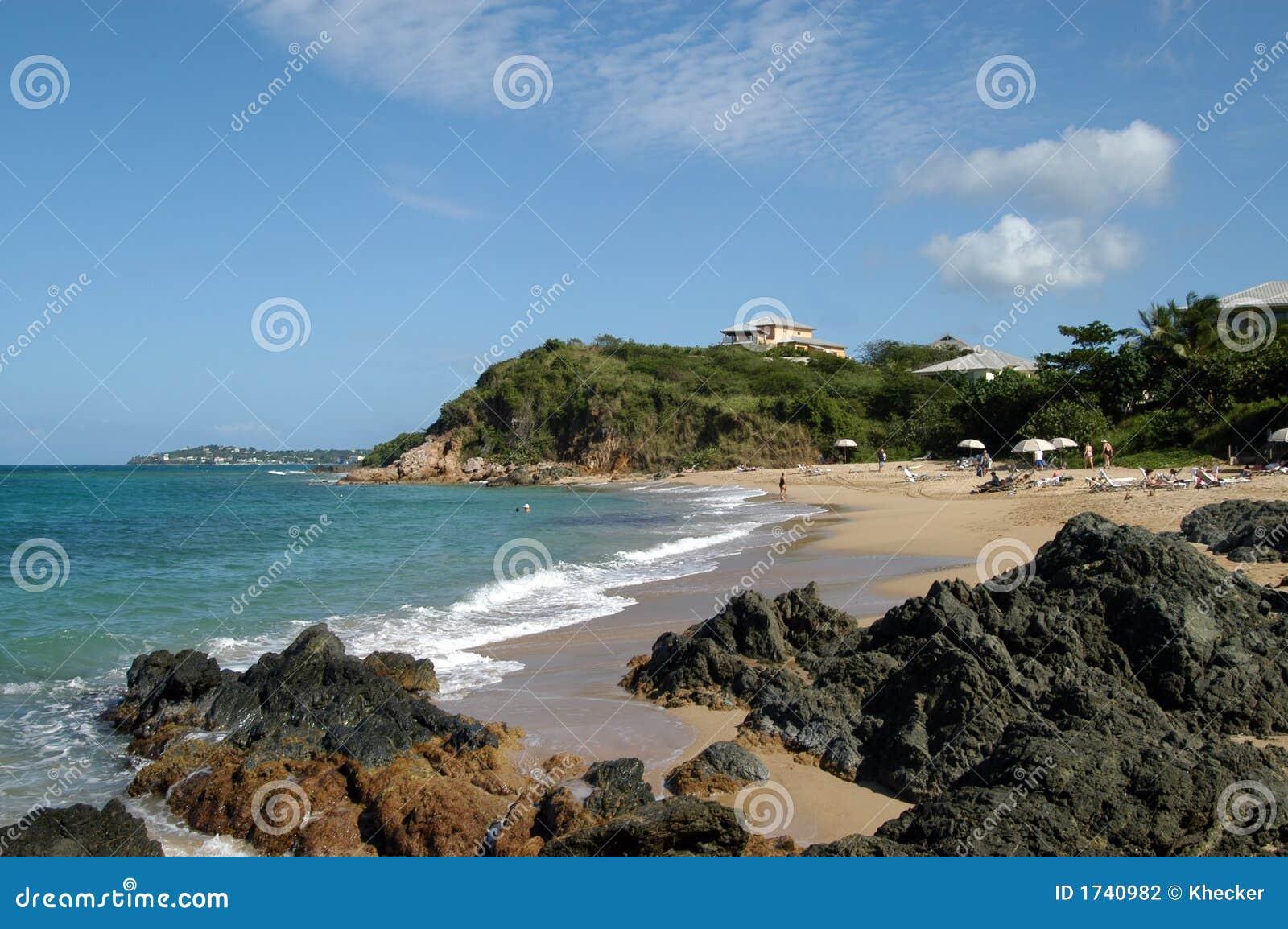 Beach on vieques