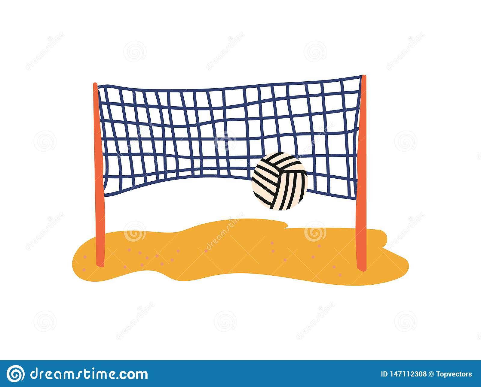 Beach Volleyball Court Stock Illustrations 443 Beach Volleyball Court Stock Illustrations Vectors Clipart Dreamstime