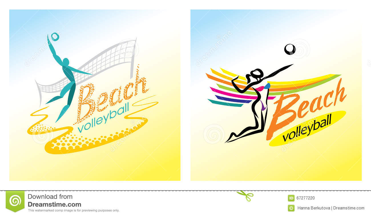 Beach volleyball icon