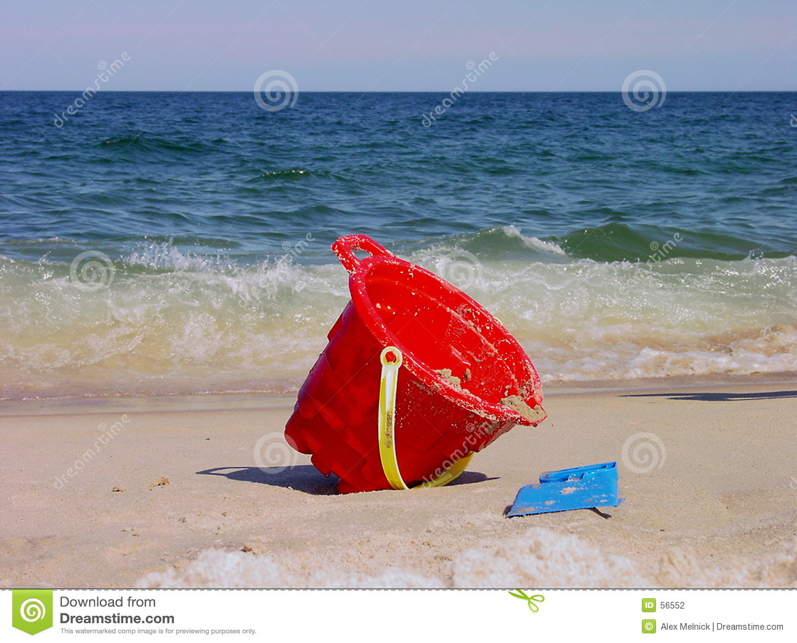 Beach wiadro
