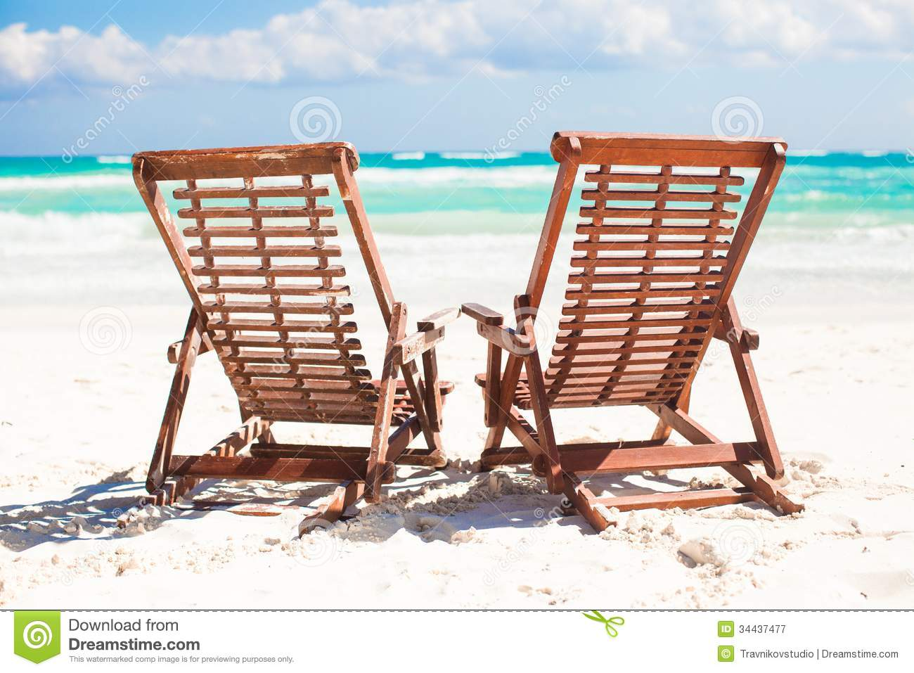Wooden beach chair back - Beach Mexico Relax Sand Tropical Tulum Wooden