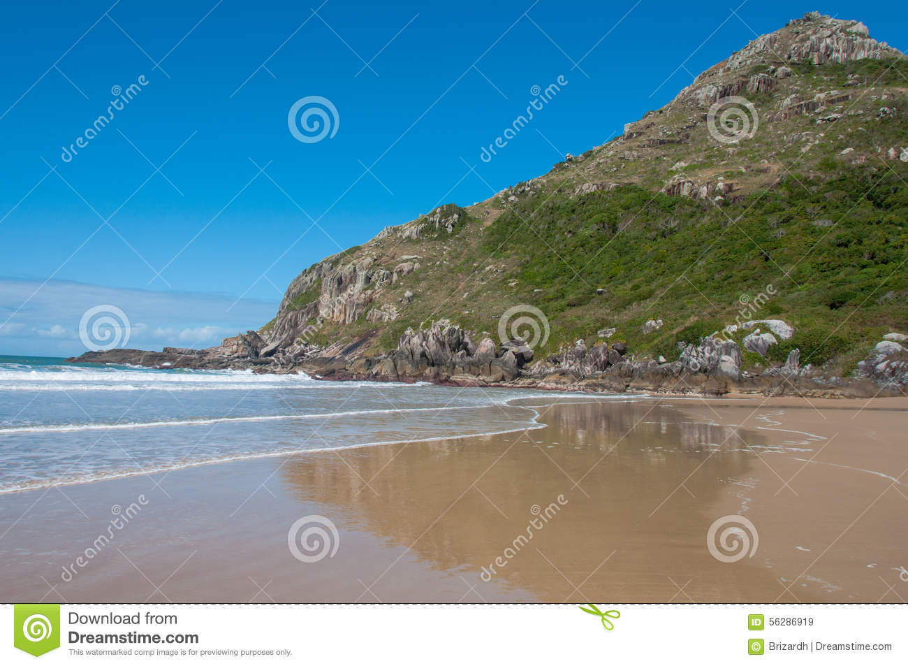 Download Beaches In Florianopolis Island South Brazil Stock Image