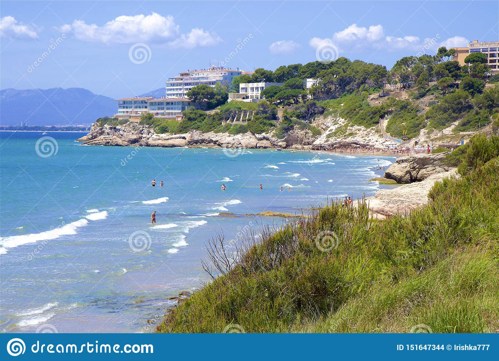 Beaches of Salou, Spain
