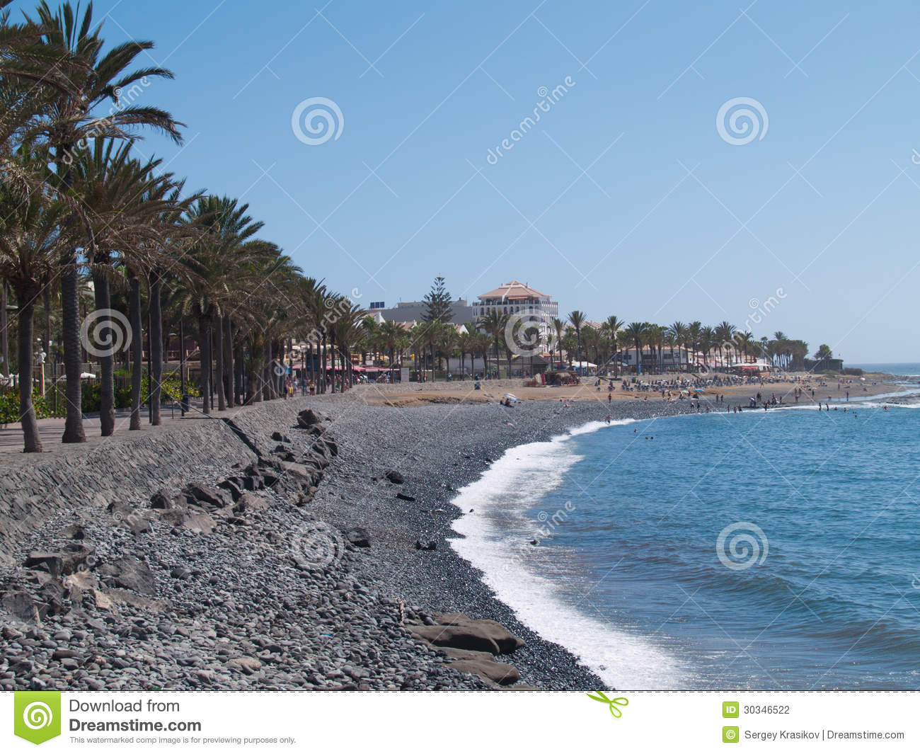 Tenerife Spain  city photos gallery : Beaches Of Tenerife, Spain Stock Photography Image: 30346522