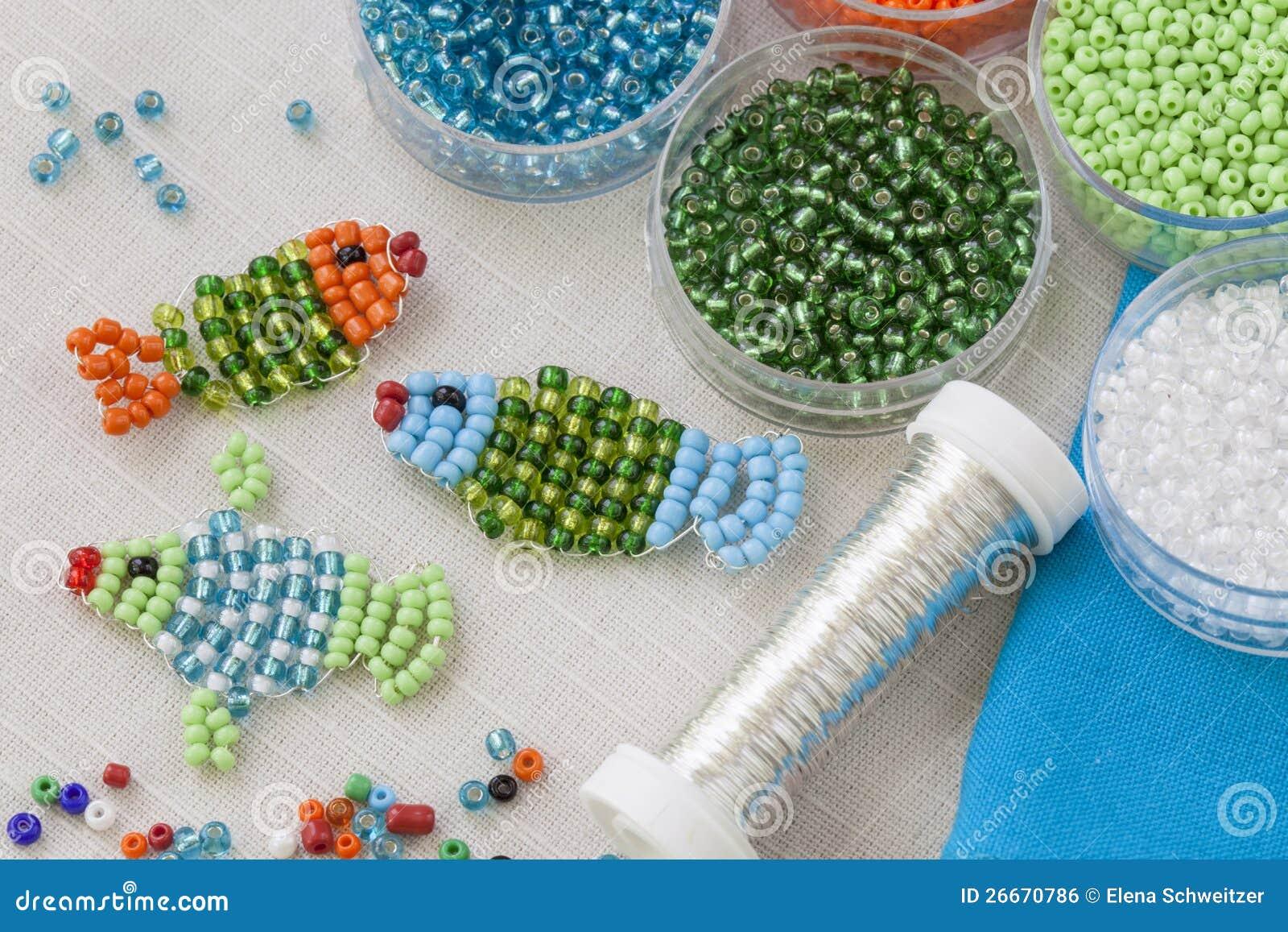 Bead craft stock photo. Image of childhood, craft, jewelry - 26670786