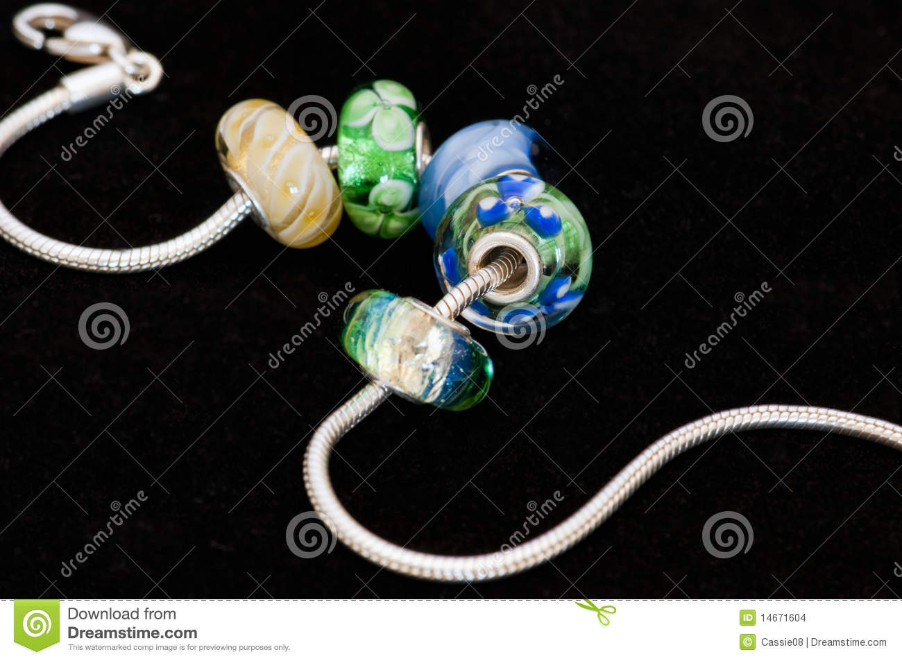Beads with bracelet