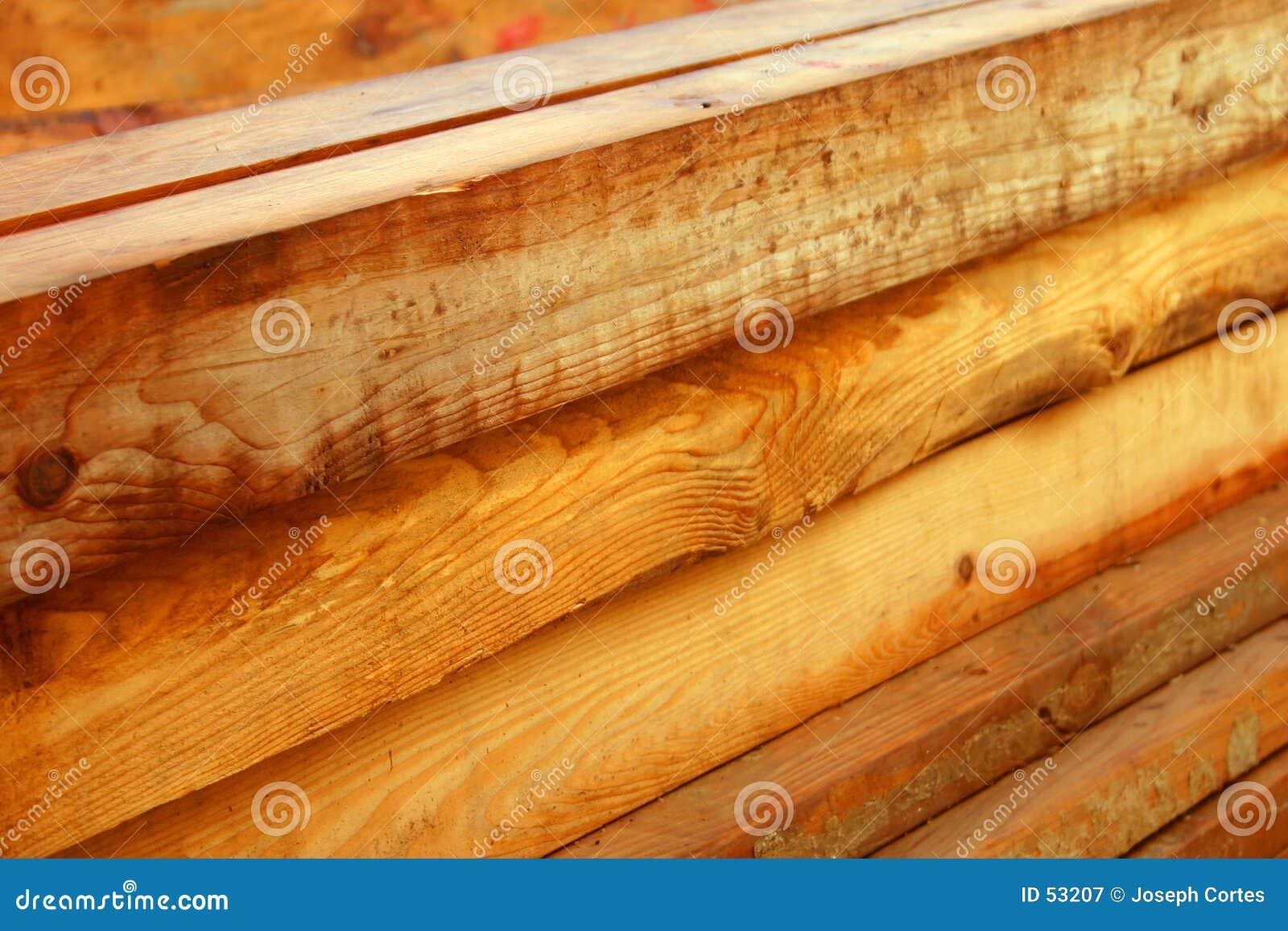 Beams trä