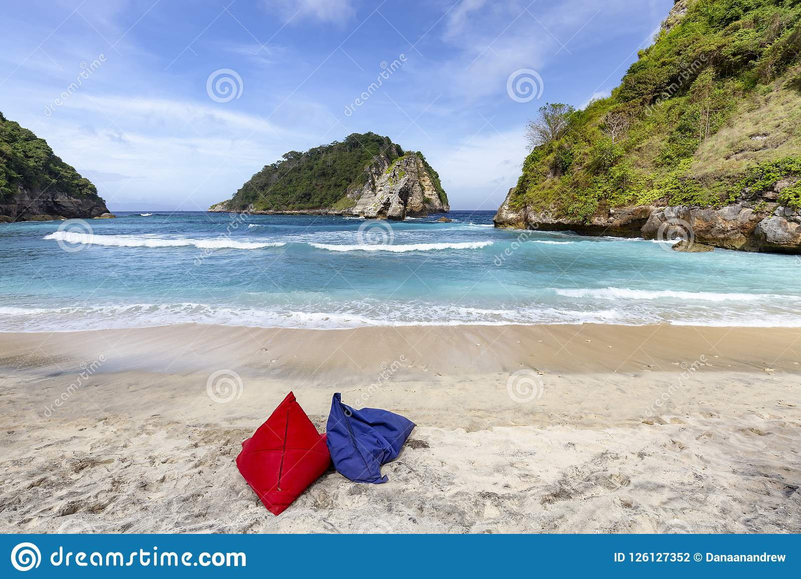 Sensational Bean Bag Chairs Stock Photo Image Of Nature Klungkung Alphanode Cool Chair Designs And Ideas Alphanodeonline