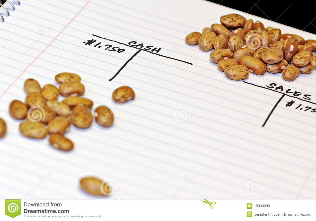bean counting stock photo  image of joke  financial  cash