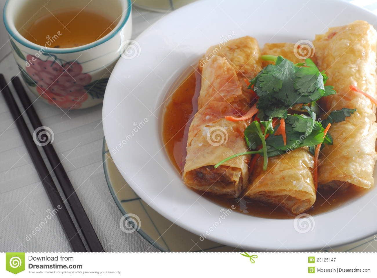 Bean Curd Roll Royalty Free Stock Photography - Image: 23125147