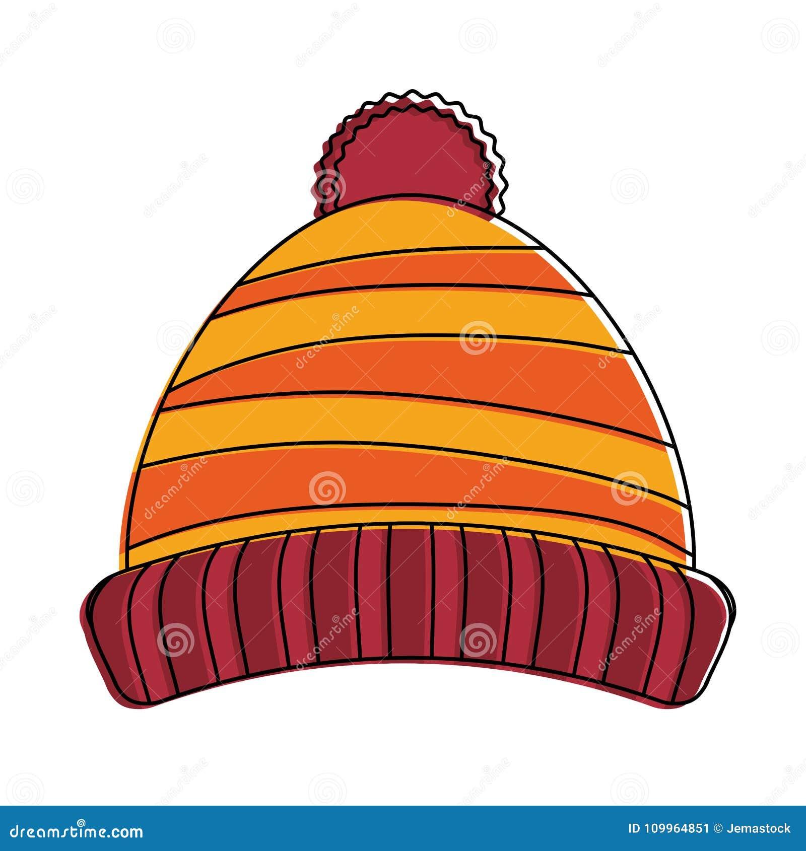 Beanie winter hat stock vector. Illustration of sport ...