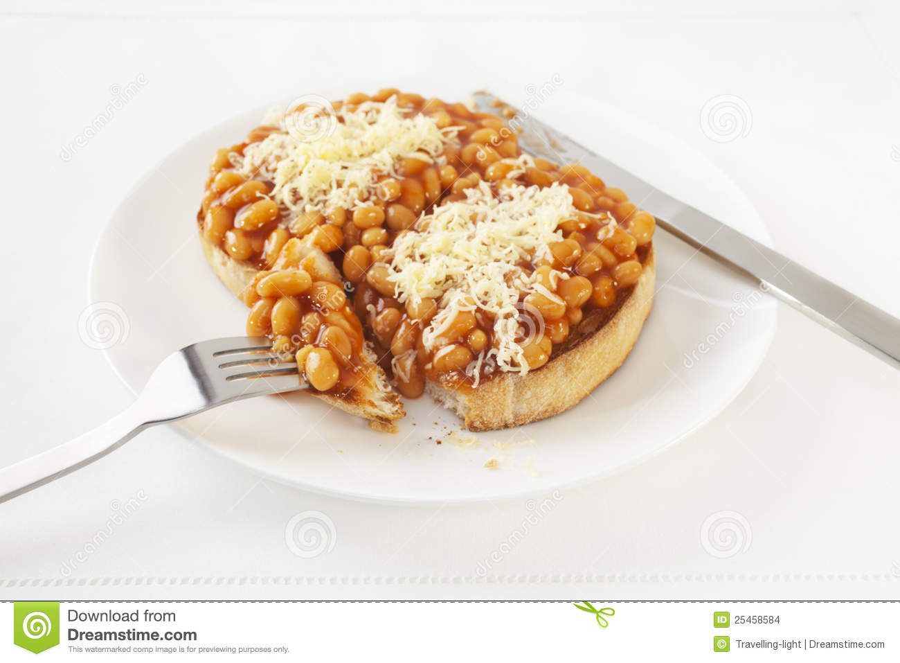 recipe: beans on toast with cheese [27]