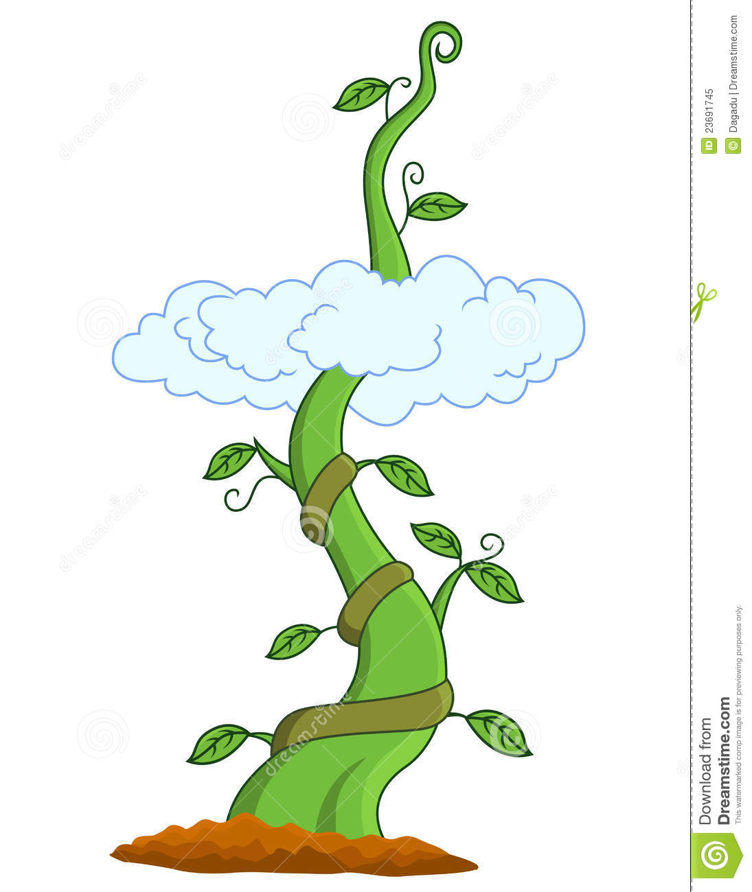 Stock Photo: Beanstalk. Image: