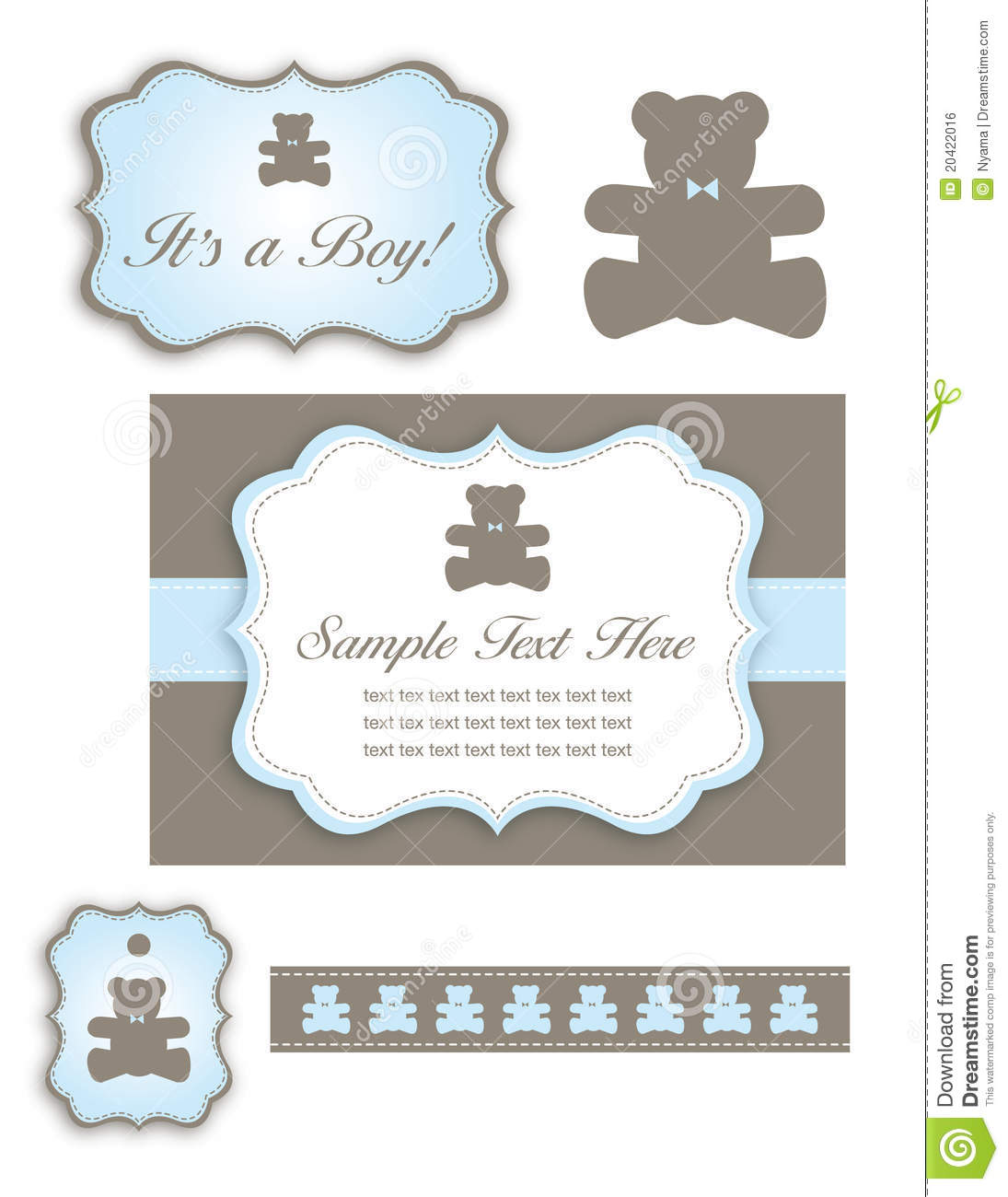 Free Baby Shower Invitation with perfect invitation layout