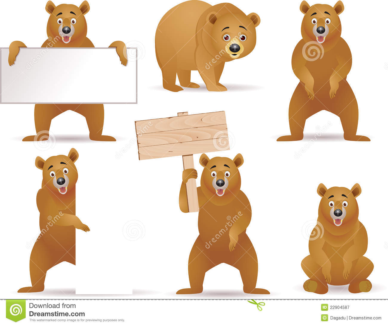 Bear Illustrations and Clipart 92041 Bear royalty free